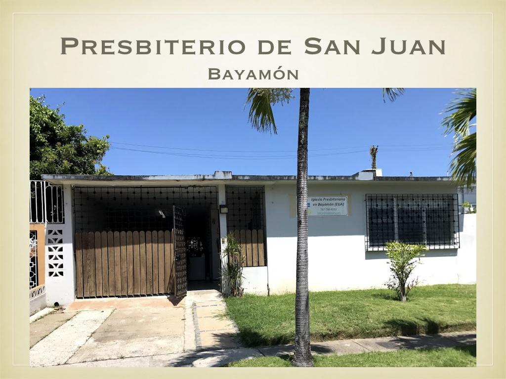 While the church's lack of damage allowed it to host a recent group from Princeton Seminary, who came to assist repairs on the Seminario Evangélico de Puerto Rico, the primary reason for our visit was for a project hosted in this side building of the church.