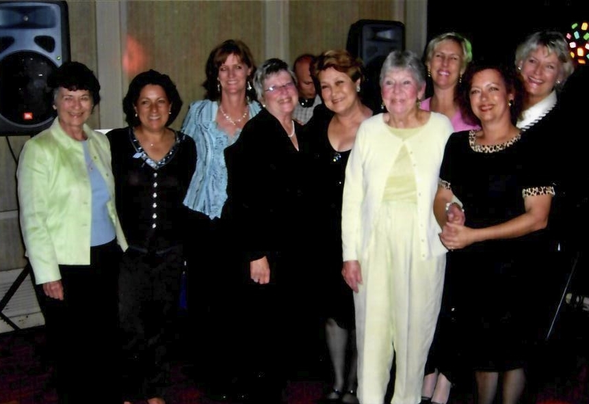 The Lazy K gals, including Dottie, back in 2006!