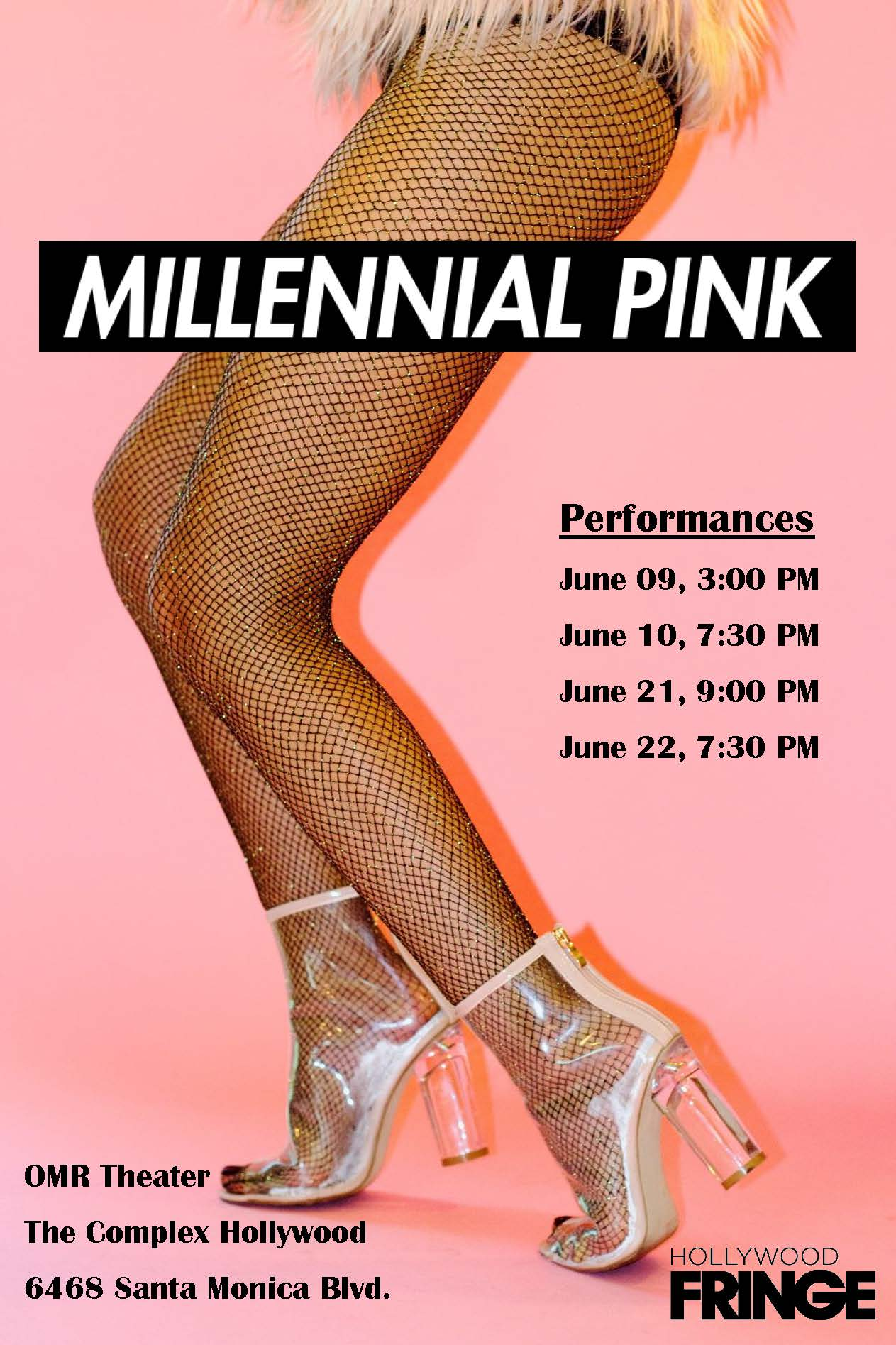 Buy tickets HERE - I'm joining this badass cast JUNE 9th - 10th! Come and support live theatre and the Hollywood Fringe!**$12 with promo code avocadotoast
