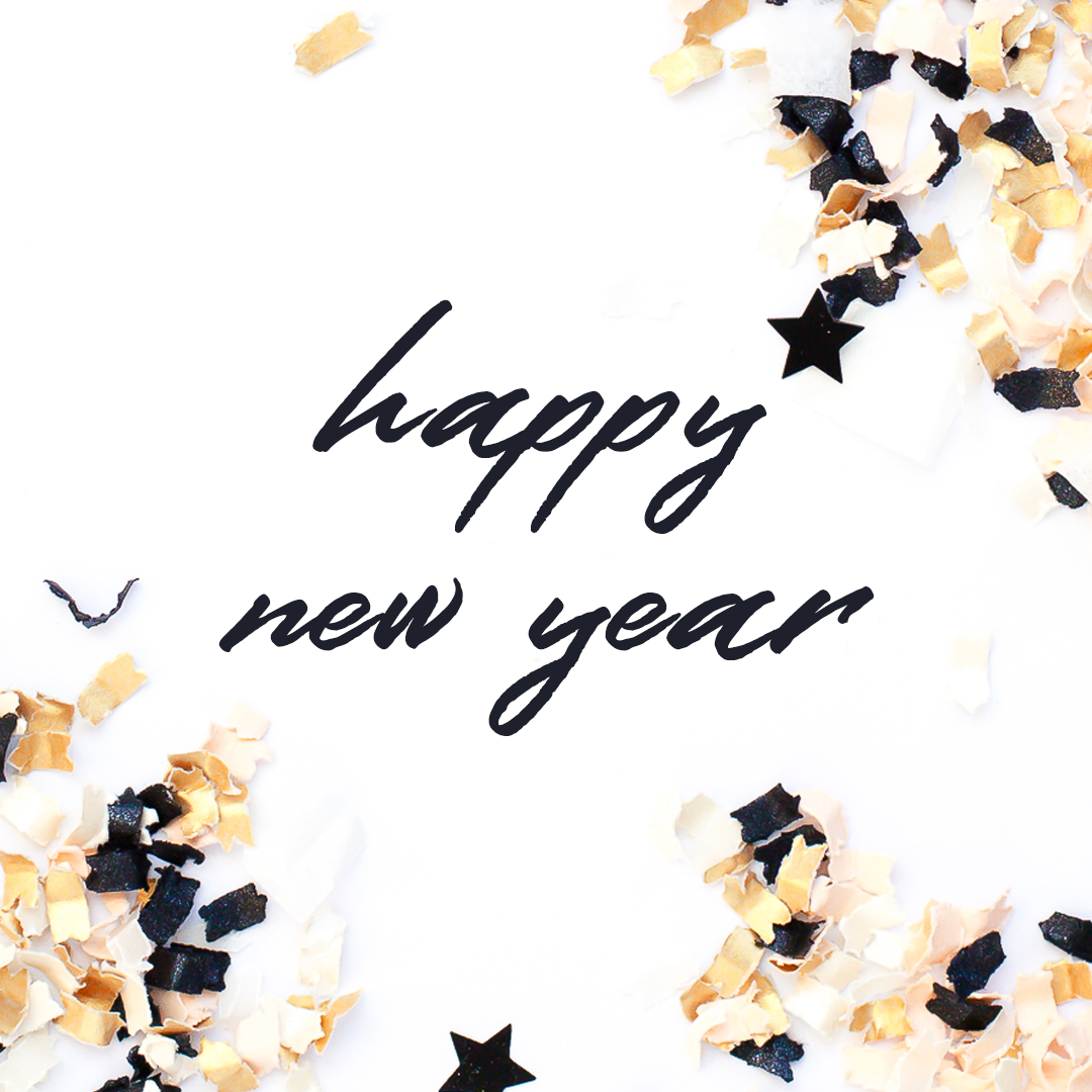 Wishing you a very happy and abundant New Year!