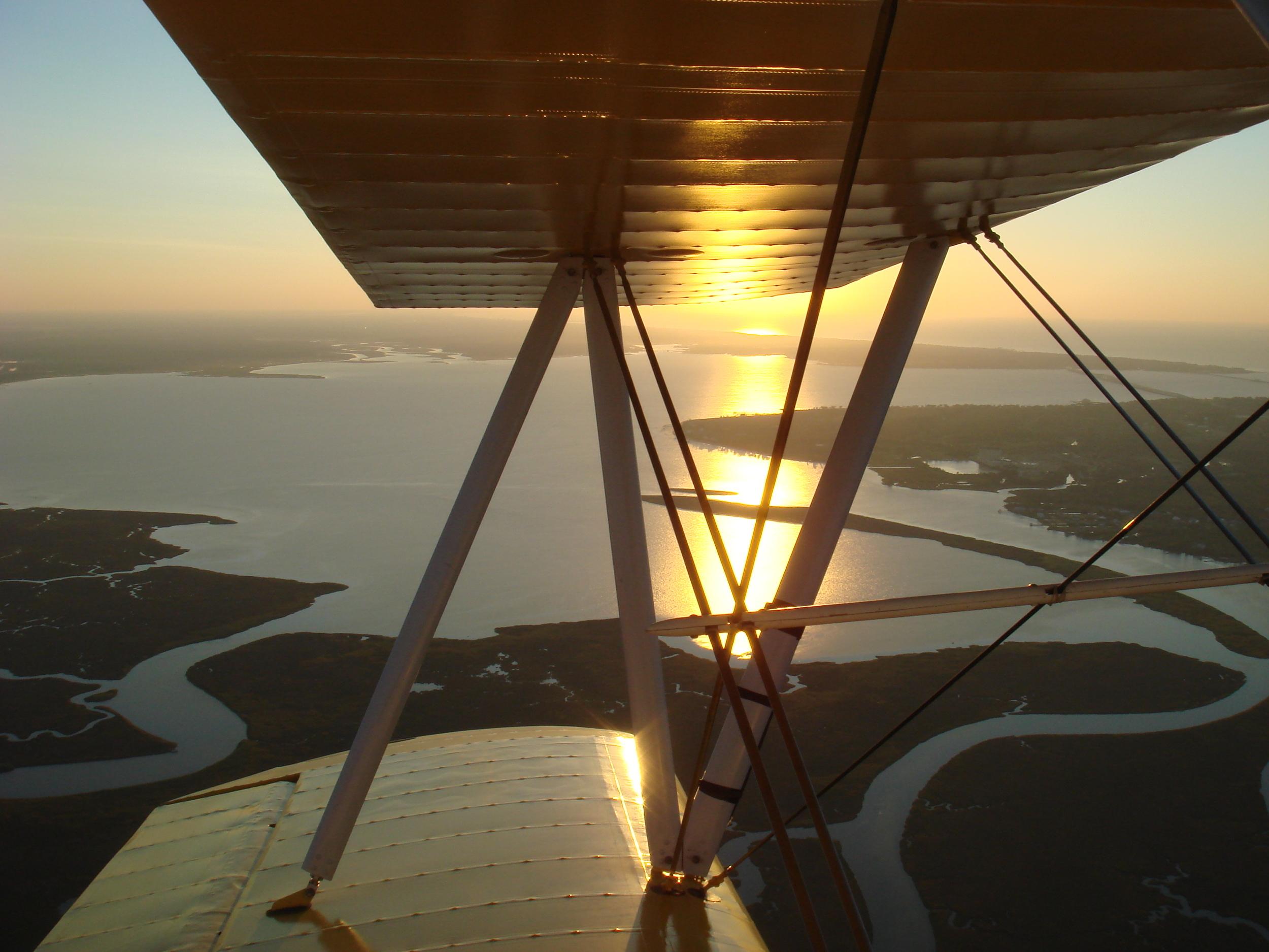 Stearman at sunset.JPG