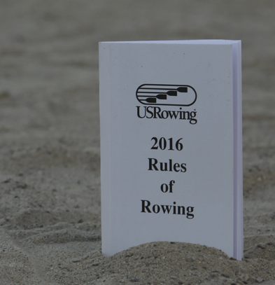 Get the USRowing Rules of Rowing   The USRowing Rules of Rowing can be downloaded for free from    http://www.usrowing.org/rules-of-rowing/