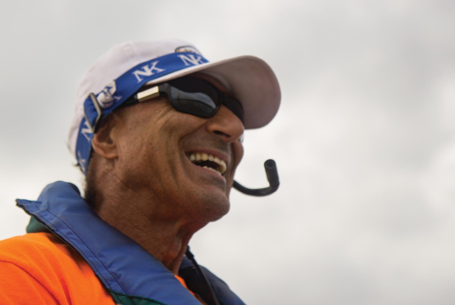 Jaime Rubini coaching Alexandria Community Rowing