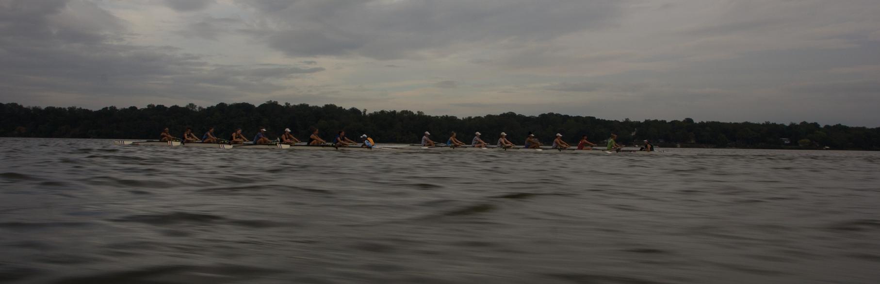 Alexandria Community Rowing practice