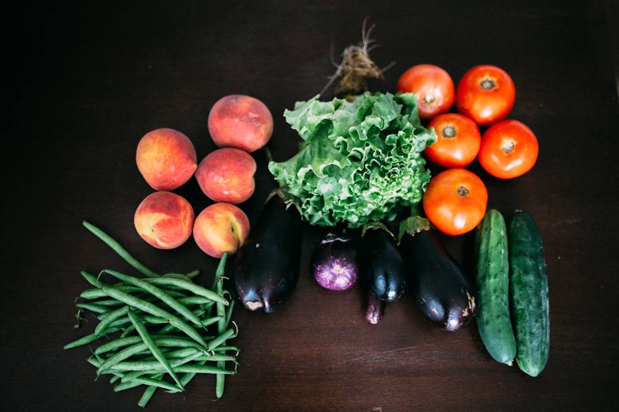June 18: Farmer's market haul.