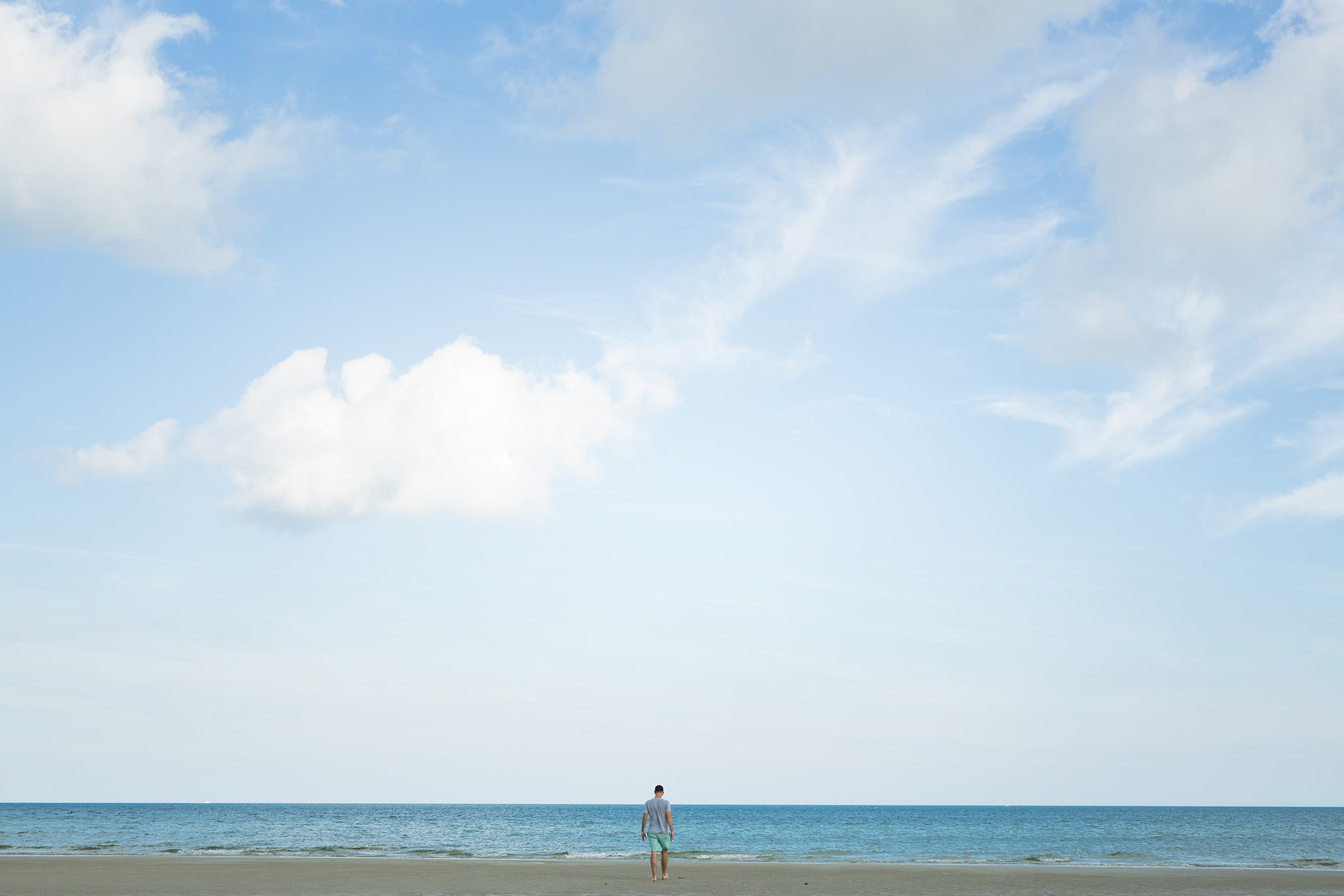 """August 25: """"The cure for anything is salt water: sweat, tears or the sea."""" -Isak Dinesen"""