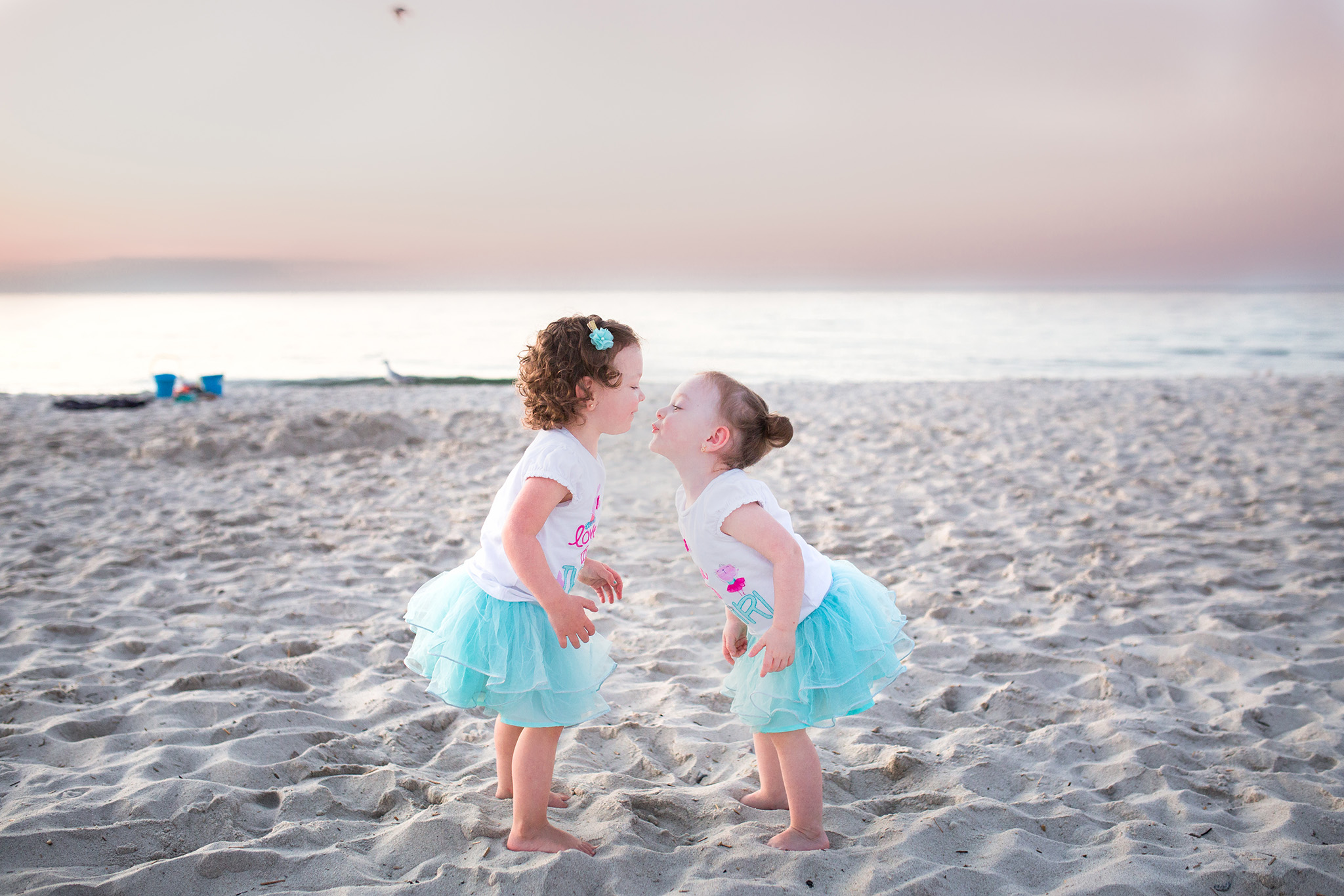 August 27: Six years ago in October I photographed their parents wedding. We met on the beach for some sunset pictures and then had ice cream, and now the girls are asking if they can play with me when they go to the park. This is my favorite part of my job: seeing families grow and change over time.