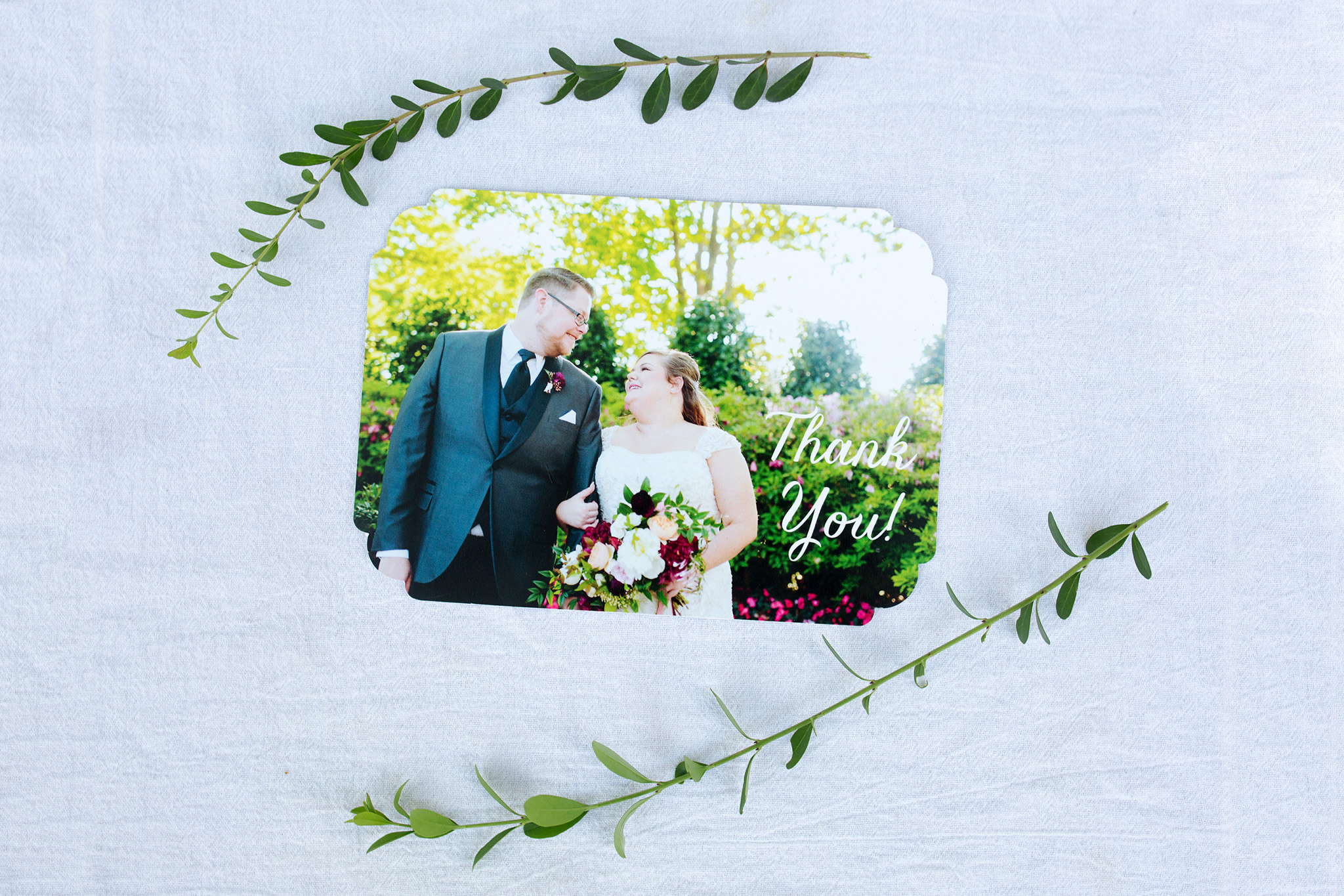 August 31: Nothing like a thank you note from a recent bride and groom to ease me back into work.