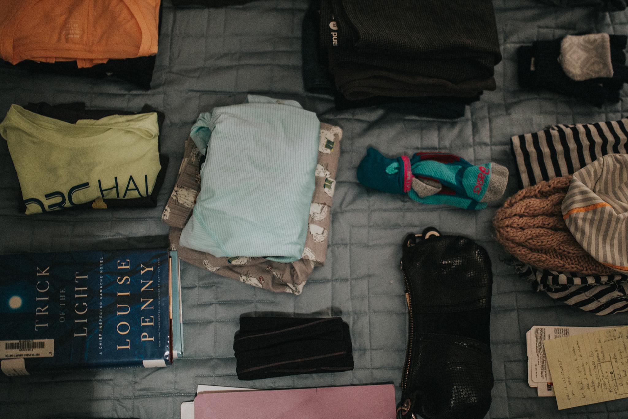 February 17: Packing.