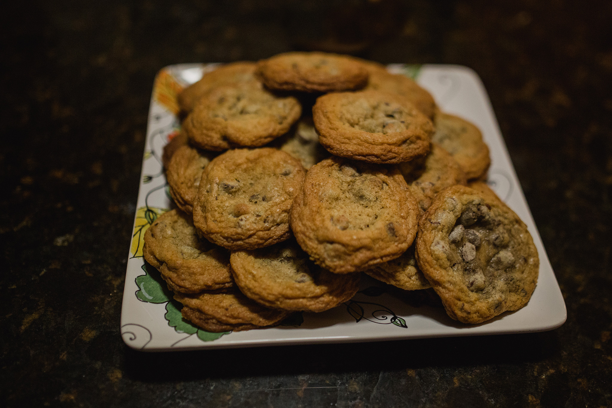 March 17: I drove to Louisville, solo, for part one of our move. Ty was to join me in a few weeks. I spent the night at my Aunt Bridget's, and when I arrived she had homemade cookies sitting out. I was all over the place emotionally and felt so loved.