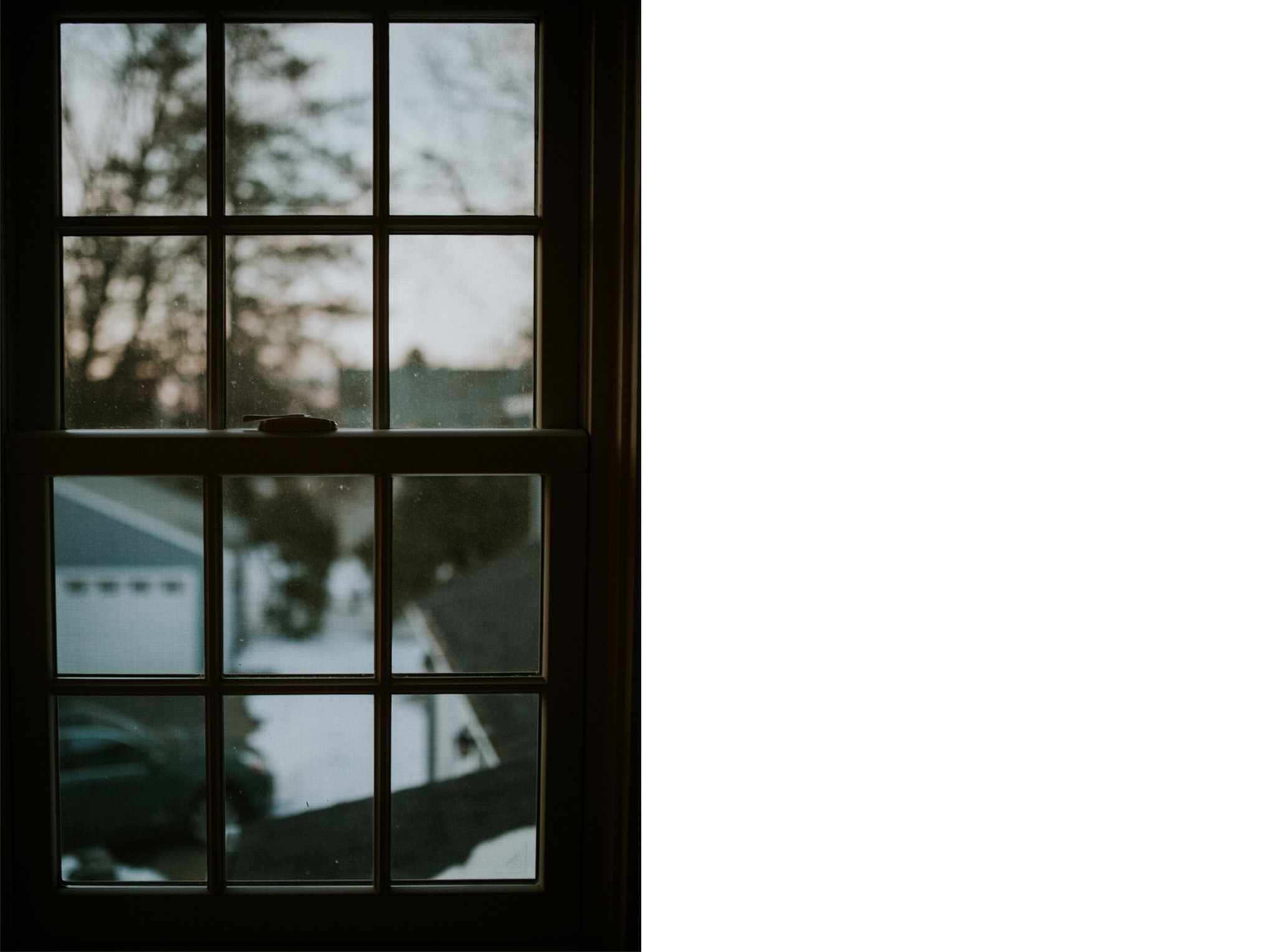 March 21: I couldn't believe there was snow on the ground when I looked out the window, that my car was parked in a Connecticut drive, that our life had taken this unexpected turn. I was a mixed bag of nerves and excitement.
