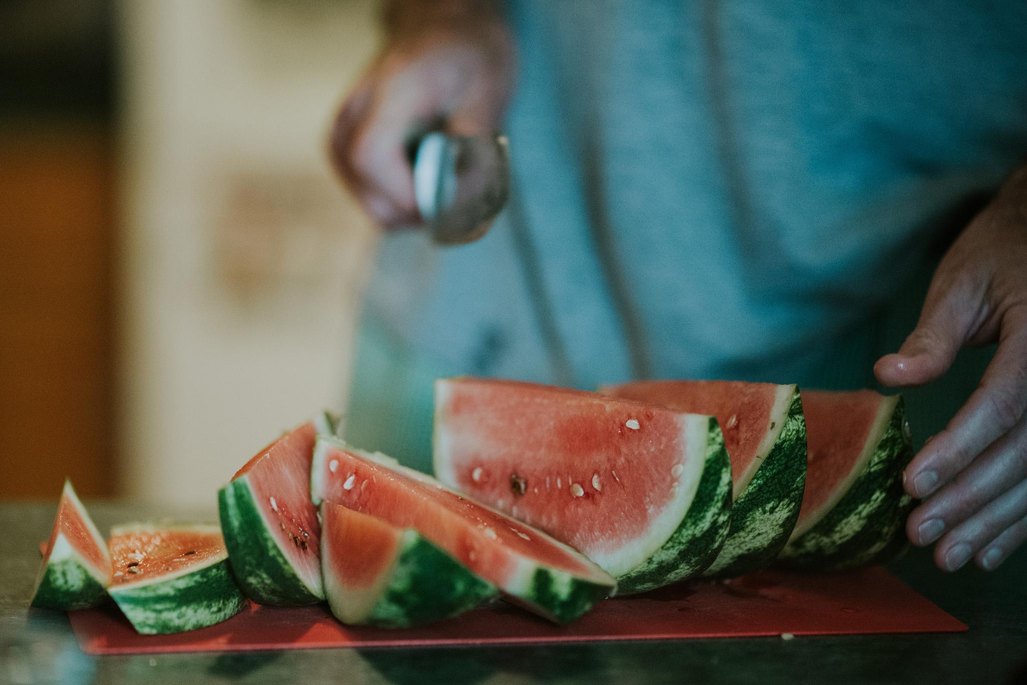 October 10: The last CSA watermelon.
