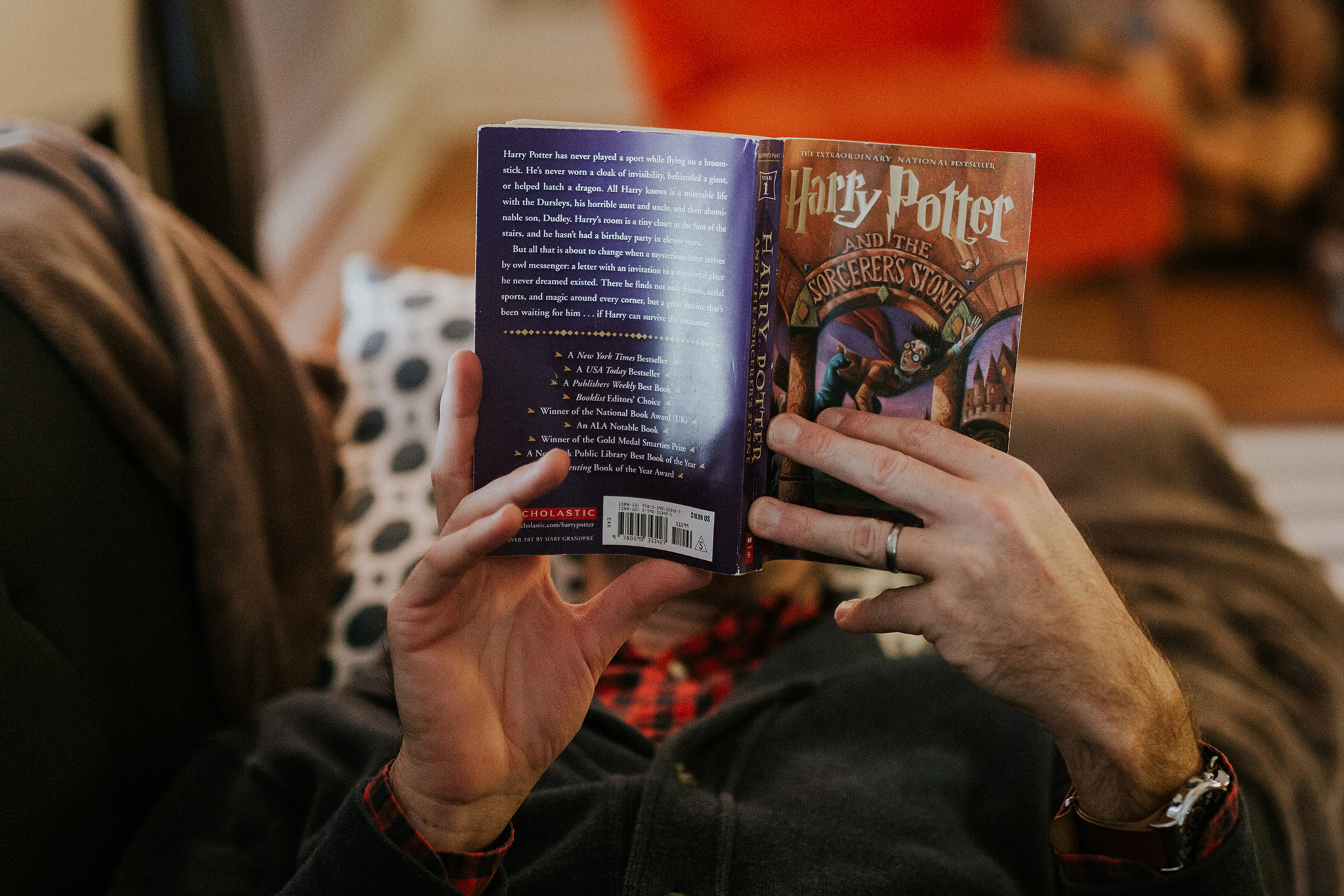 November 12: It only took 2.5 years to get Ty to read Harry Potter.