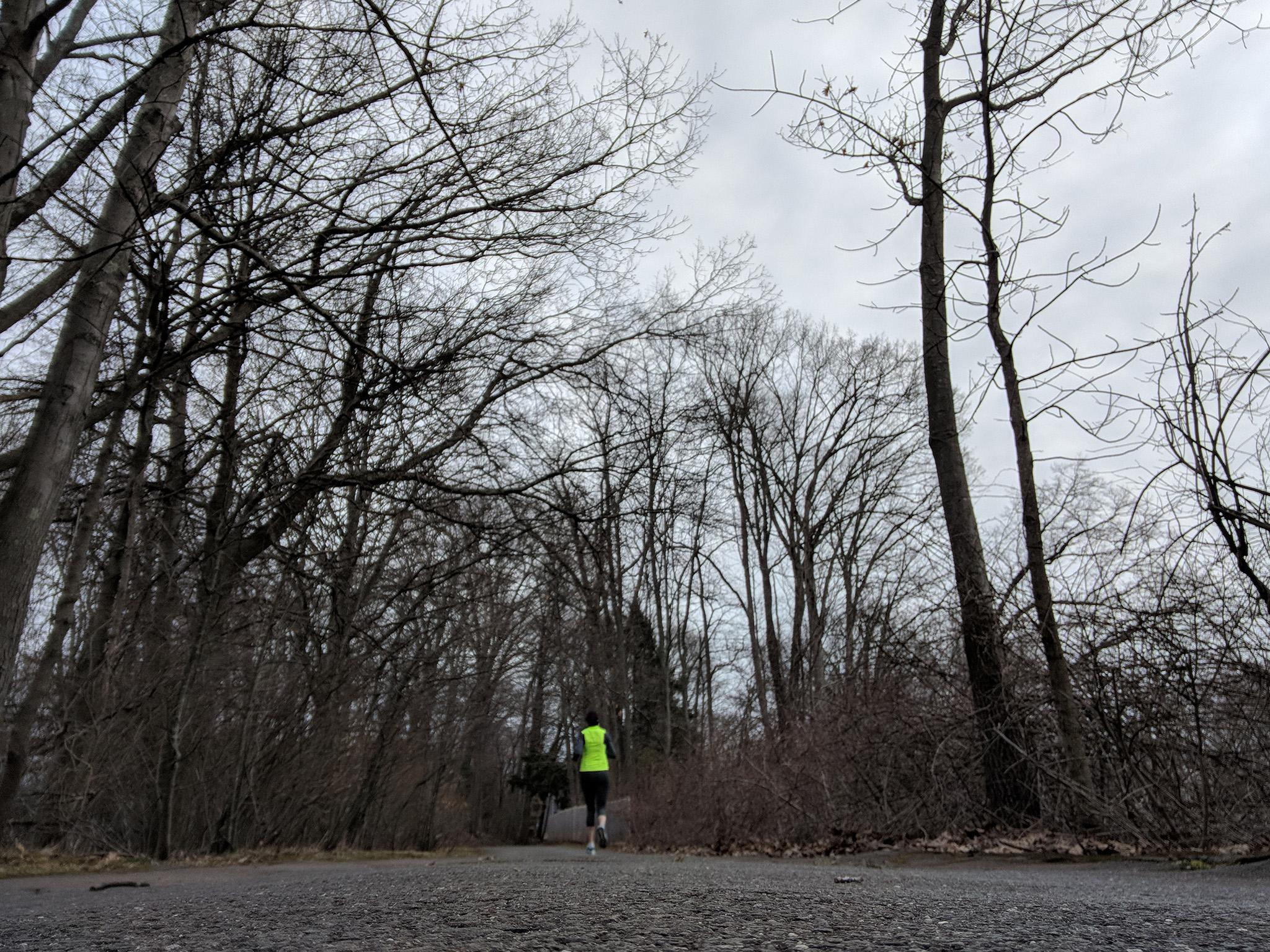 April 9: Marathon. Training. Peak mileage week.