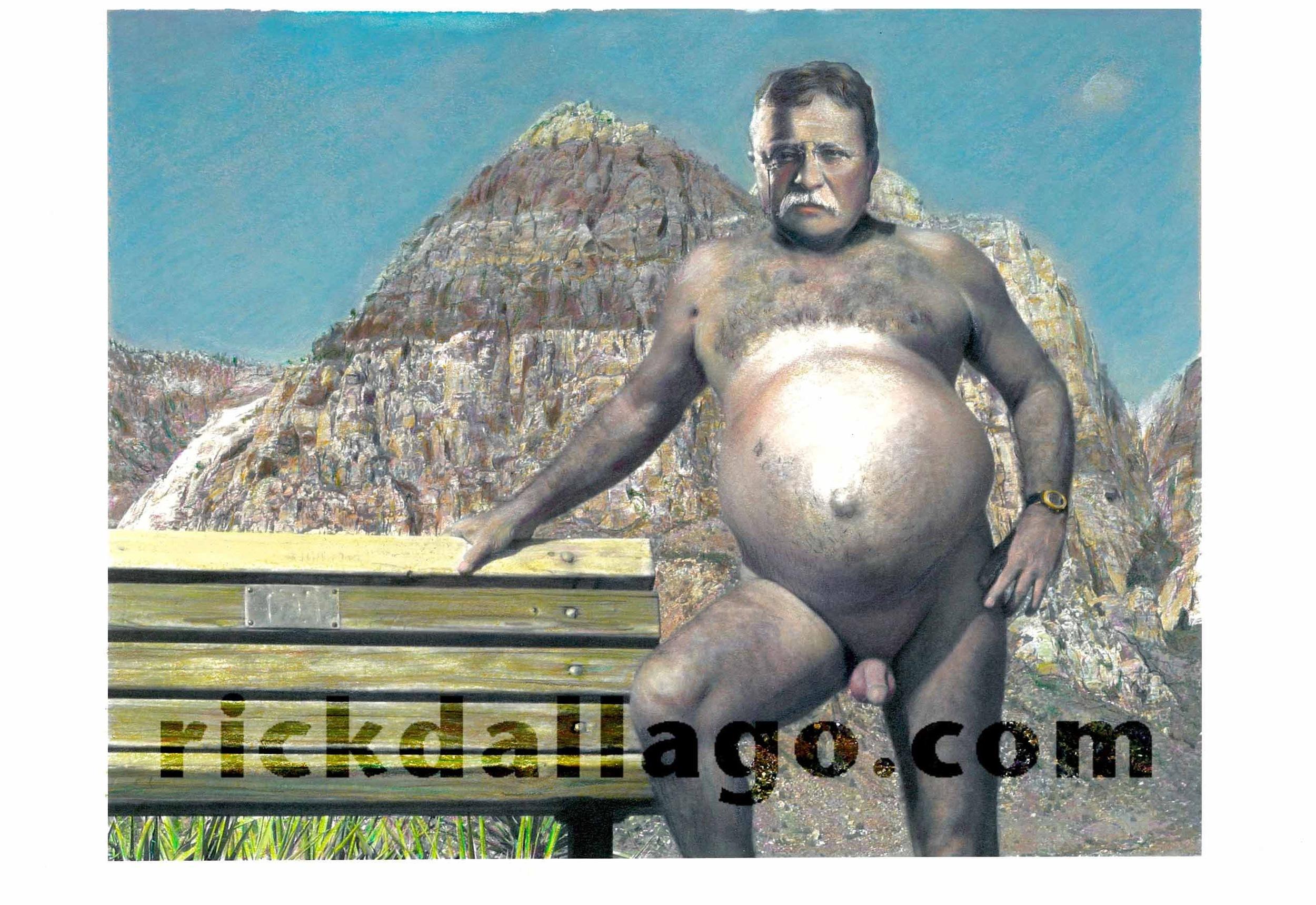 Teddy Roosevelt Naked