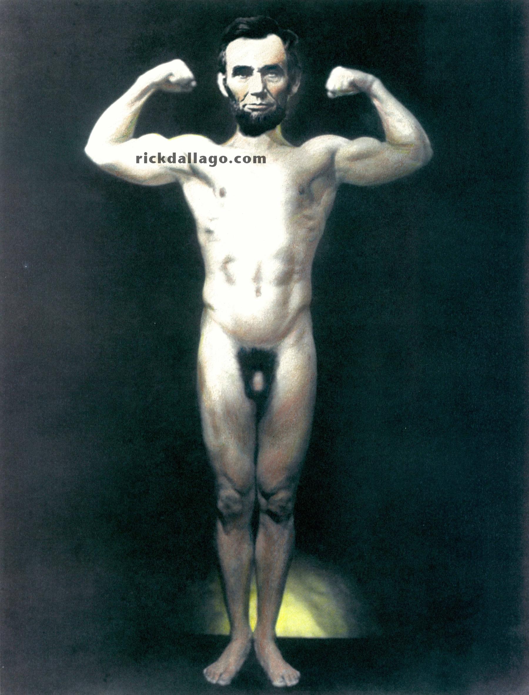 Abe Lincoln Naked