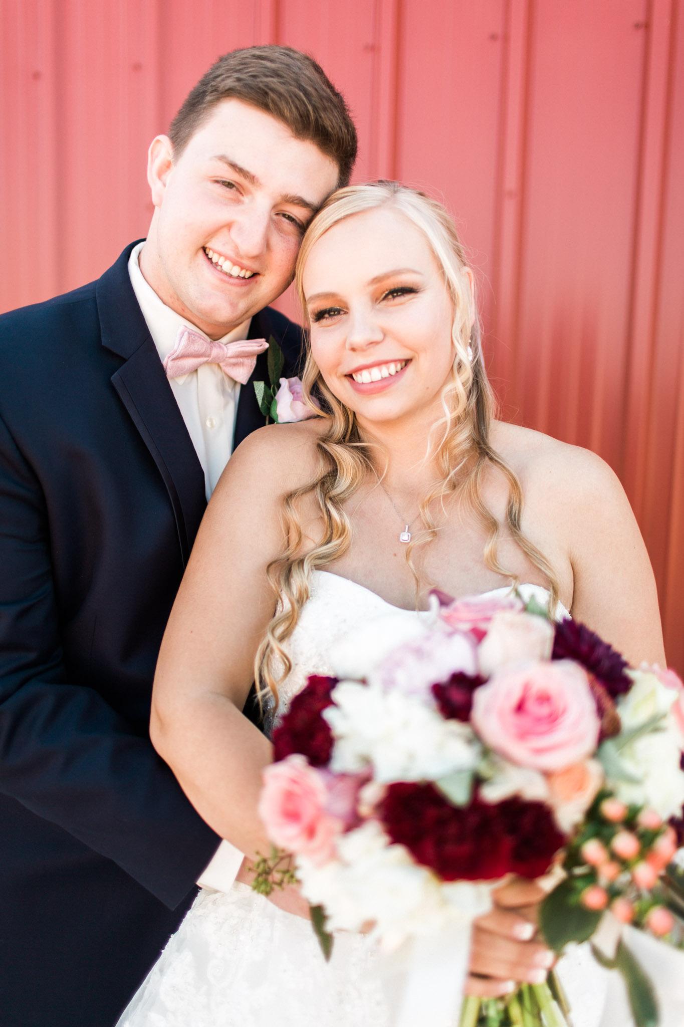 Wichita Falls, TX French Country Meadow Wedding Photos - Bridal Photography
