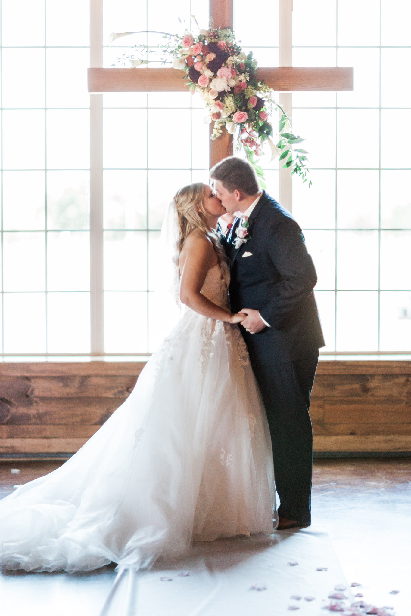 North Texas French Country Meadow Wedding Photos - Elegant Photography