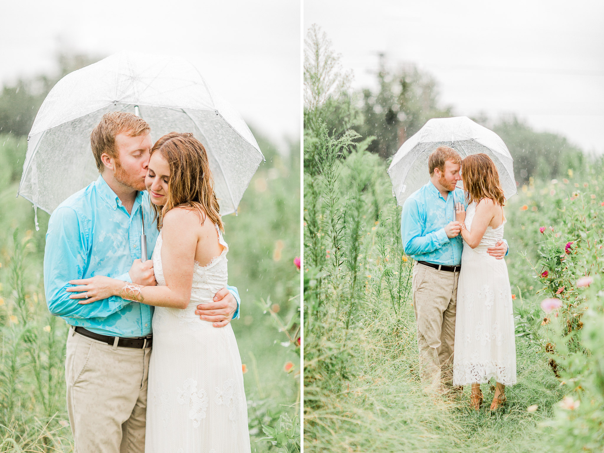 North Texas Engagement Photos - Light and Airy Photographer