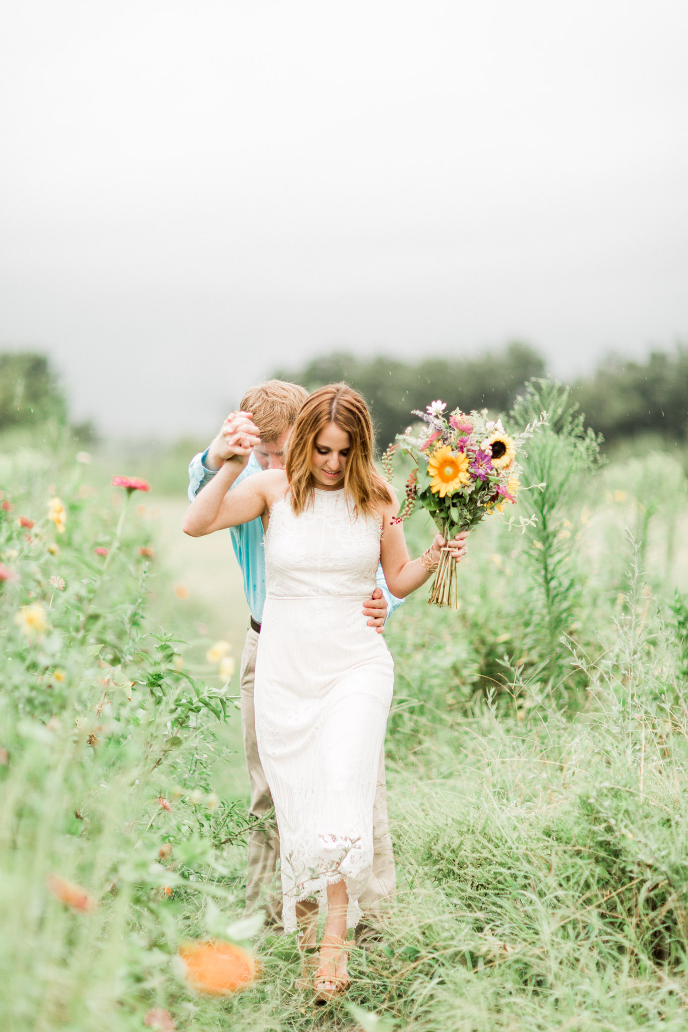Wichita Falls, TX Engagement Photos - Light and Airy Photography