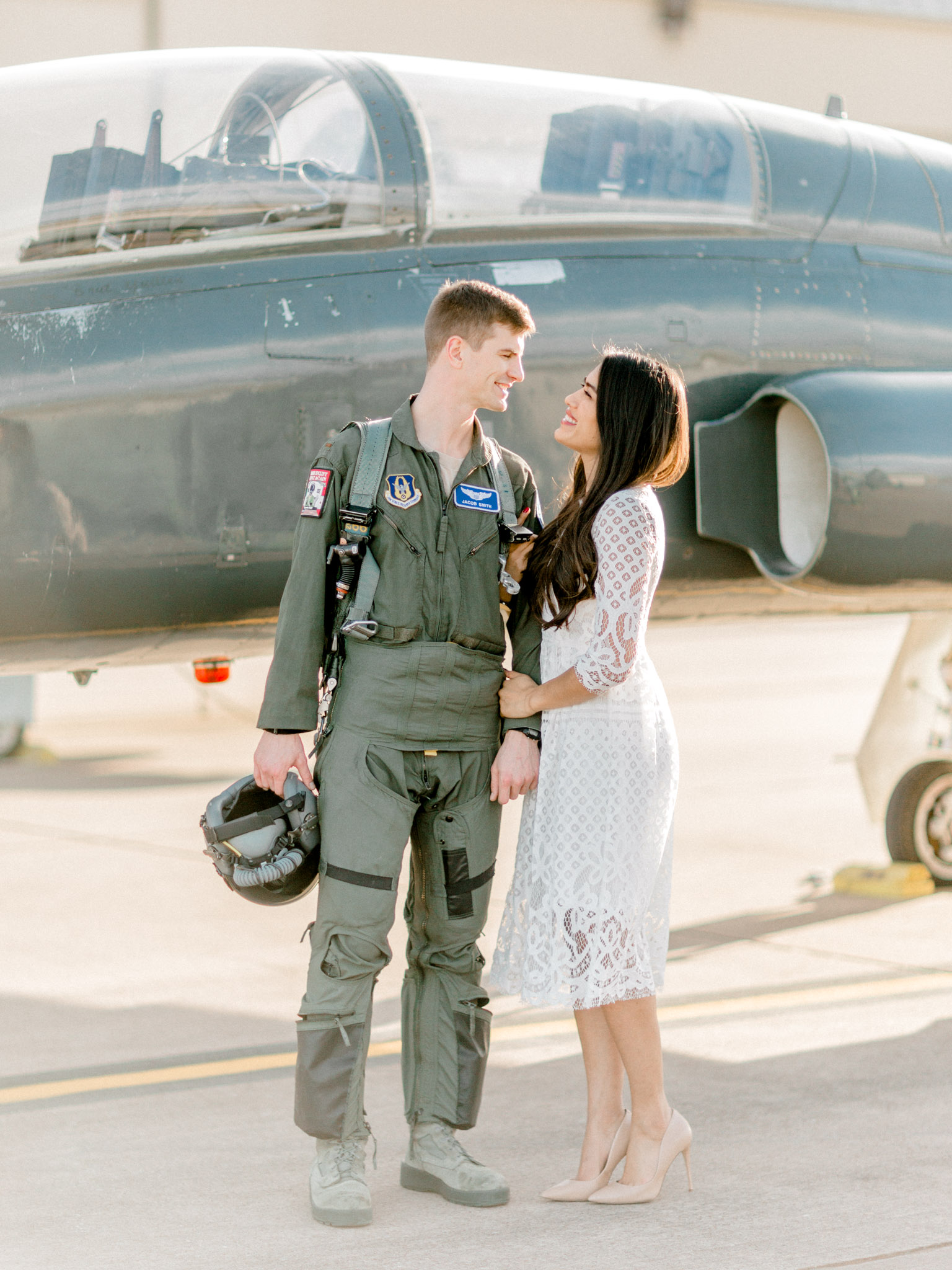 Sheppard Air Force Base Engagement Photos - Elegant Photography
