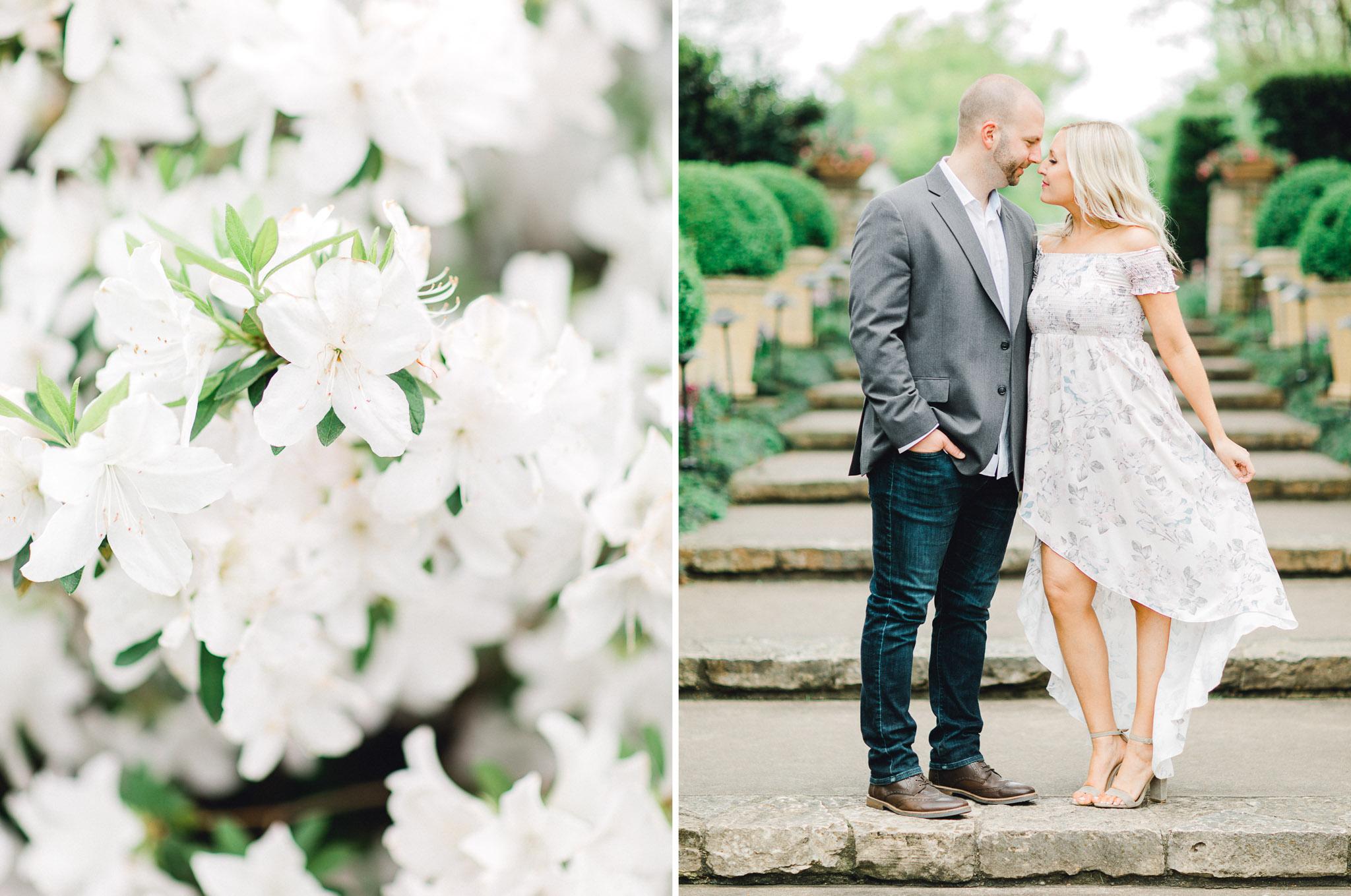 Dallas Arboretum Engagement Photos - Fine Art Photography