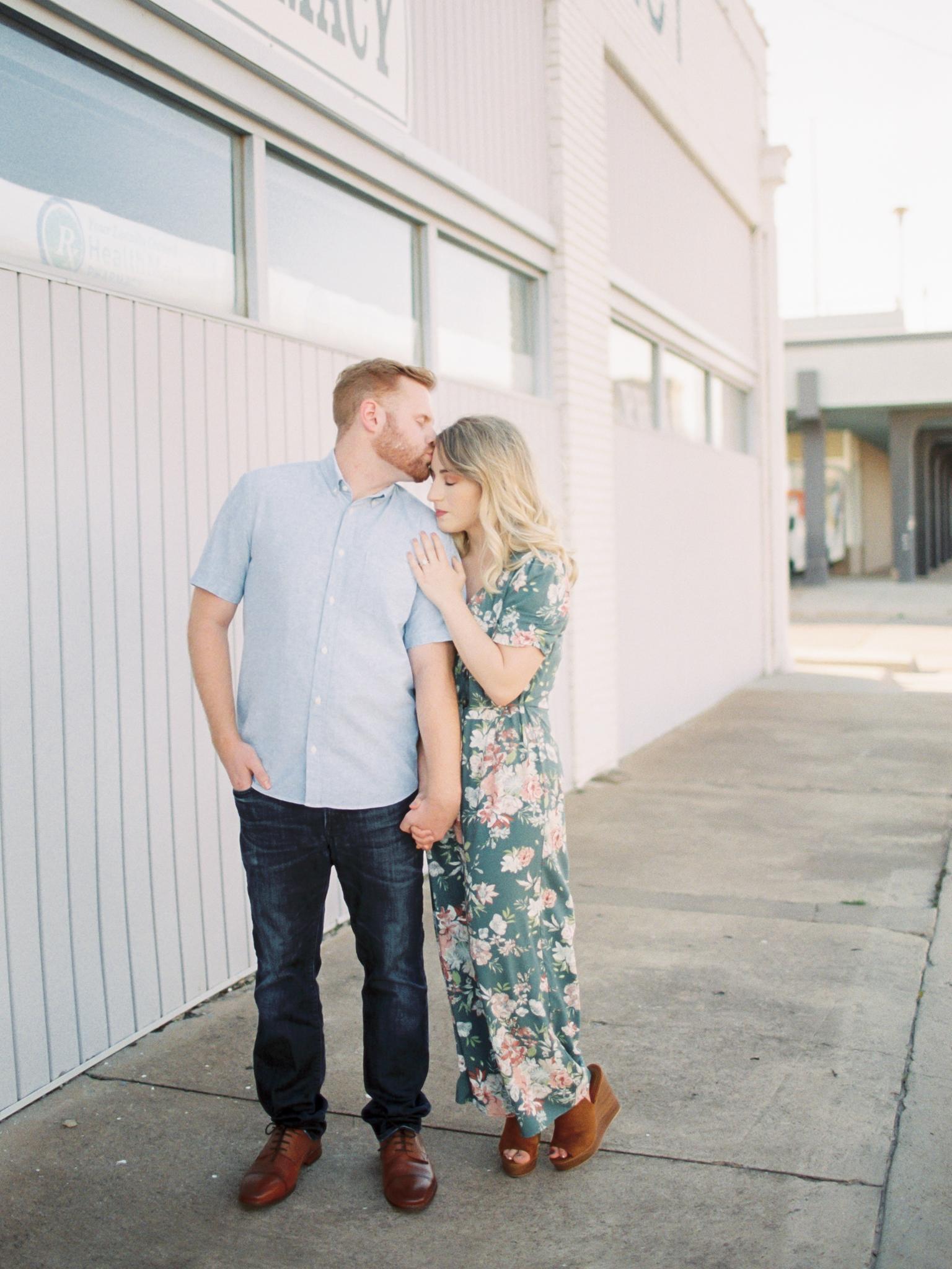 Wichita Falls Engagement Photos - Fine Art Film Photography