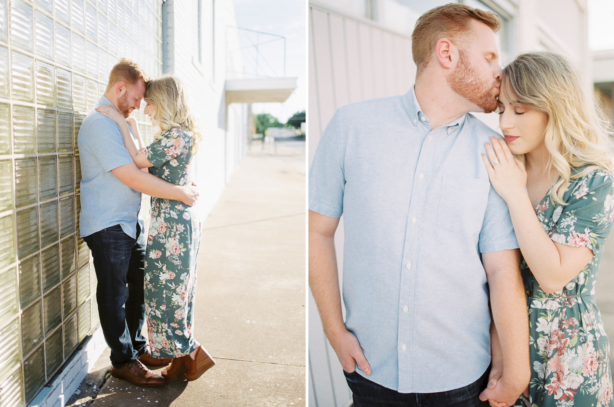 Wichita Falls Engagement Photos - Light and Airy Photography