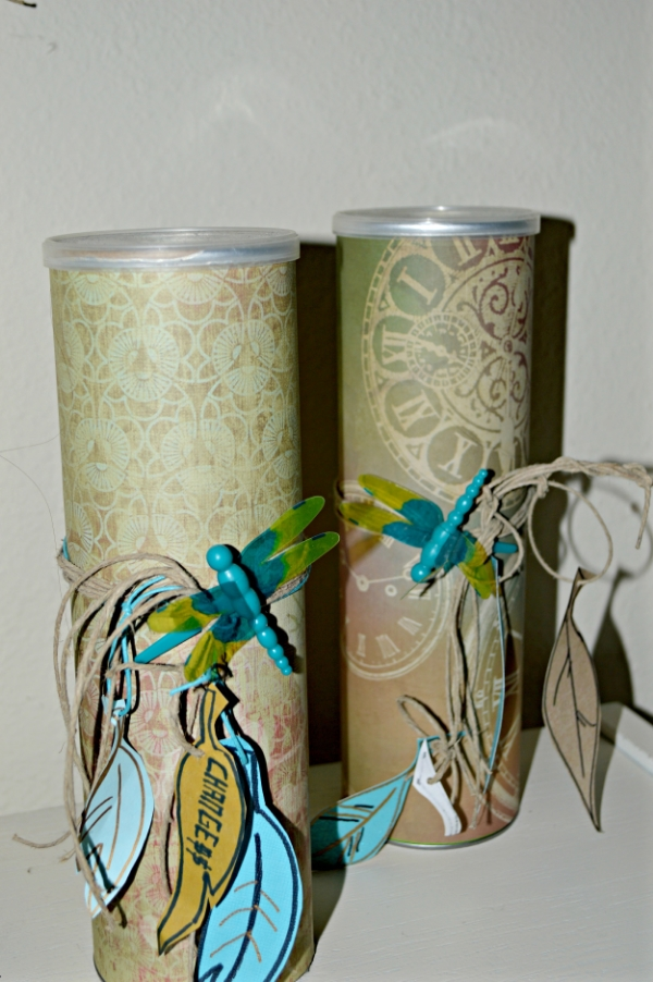 upcycle pringle cans