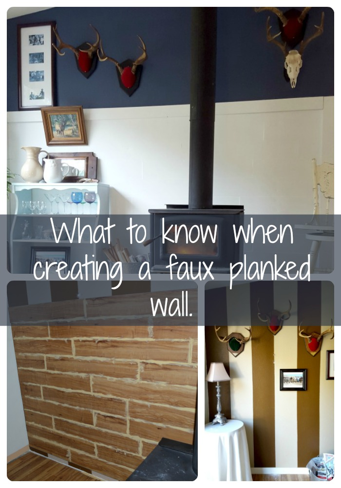 DIY planked wall and what I'd do differently next time