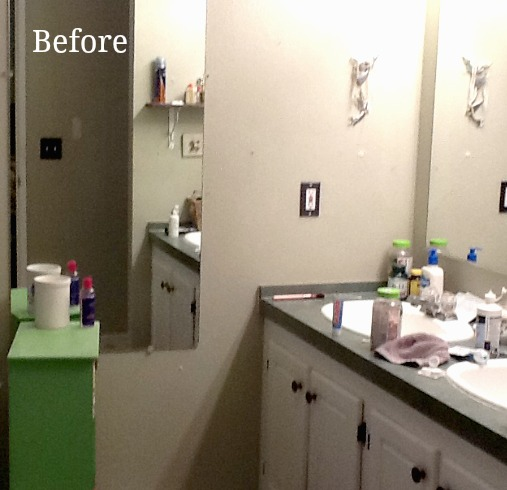 Manufactured master bathroom gets a face lift