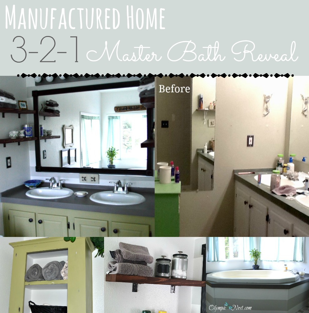 Affordable ideas to make over master bathroom