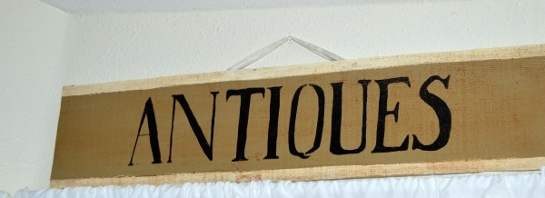 Hand painted home decor sign