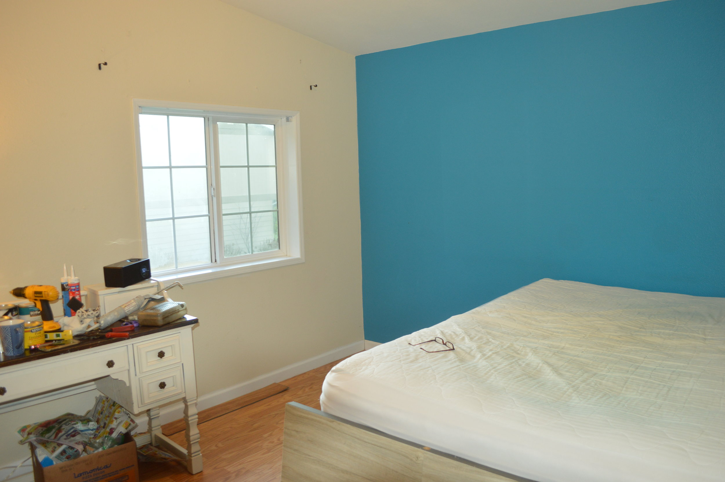 before bedroom wall trim.JPG