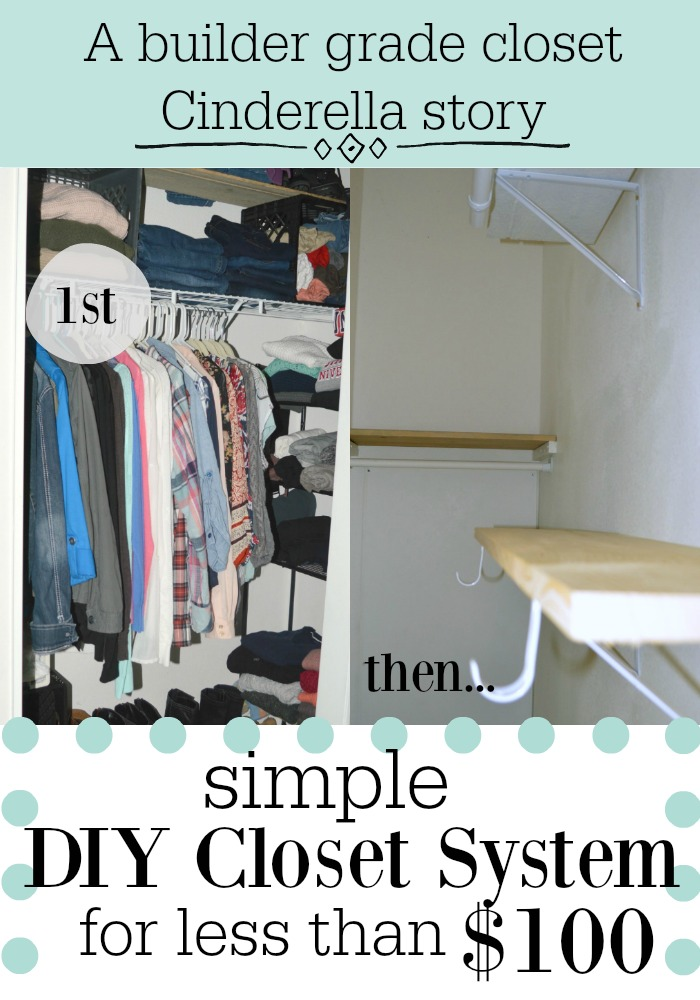 closet challenge part II how to add shelves to increase storage.jpg