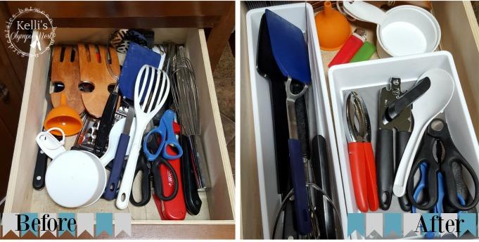 thrifty ways to organize RV kitchen drawers.jpg