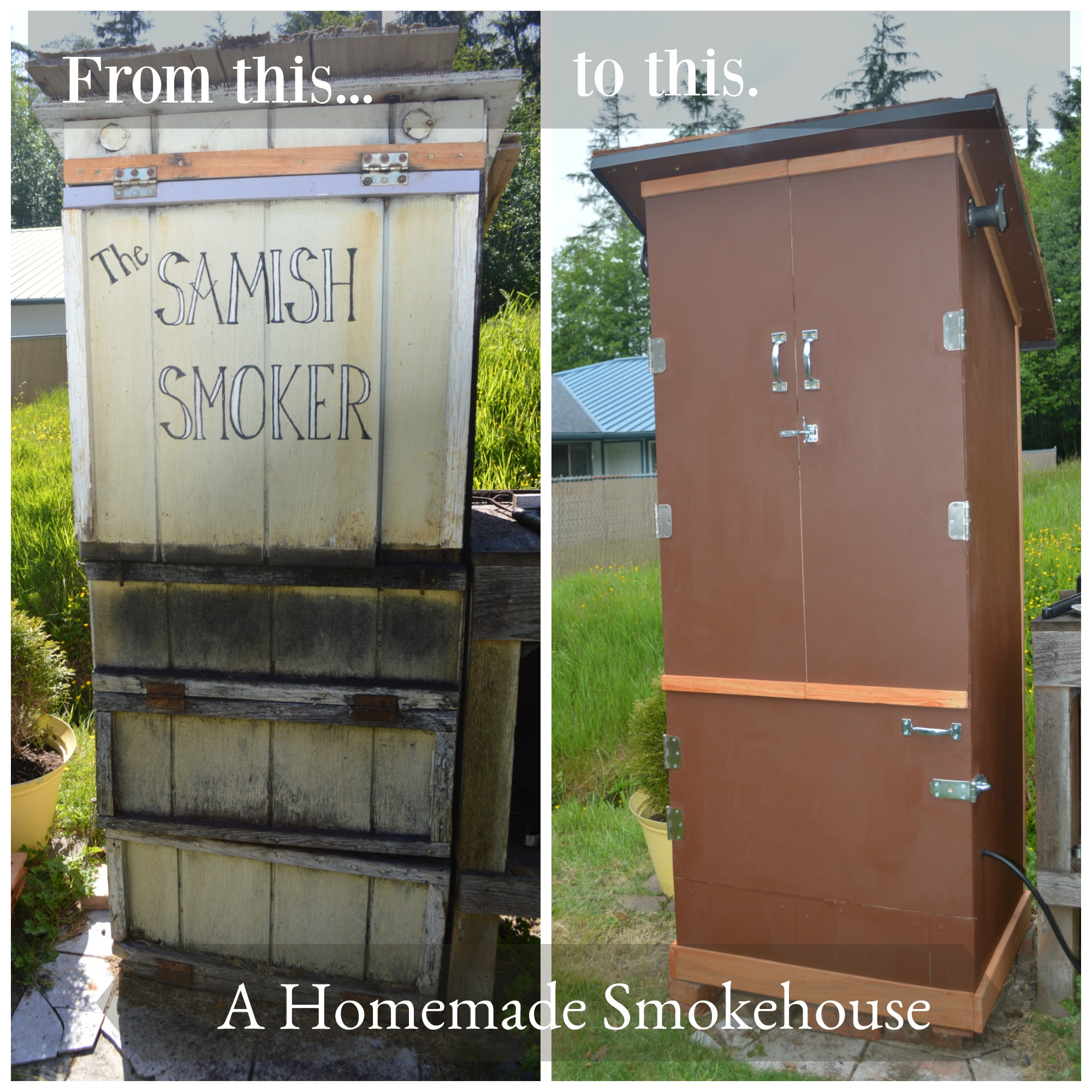 Be inspired to build your own smokehouse #homestead #smokehouses.jpg