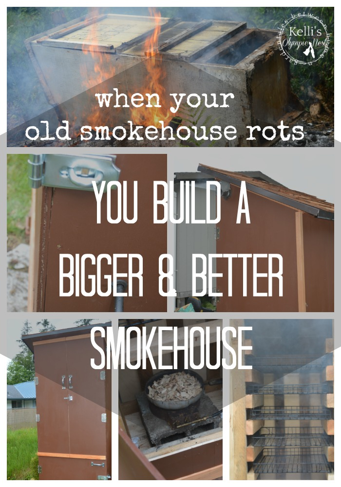 homemade smokehouse to preserve game and fish #smokehouse #homestead.jpg