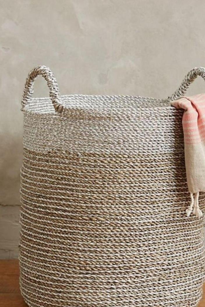 Anthropologie+Coil+Rope+Basket