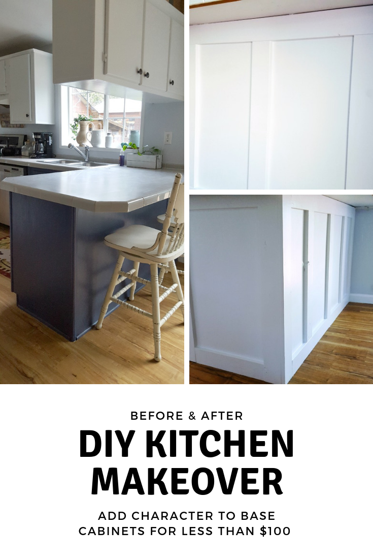 how to add character to kitchen peninsula #kitchenmakeover #coastalfarmhousekitchen #diy.png