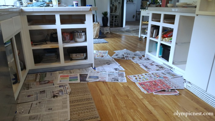 kitchen makeover on a budget how to paint kitchen cabinets .jpg