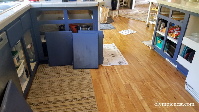 how to paint your manufactured home kitchen cabinets.jpg
