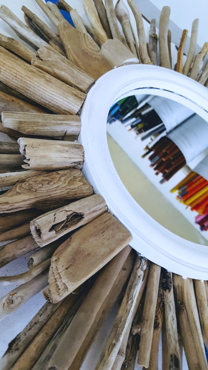 how to make your own driftwood sunburst mirror from the dollar tree .jpg