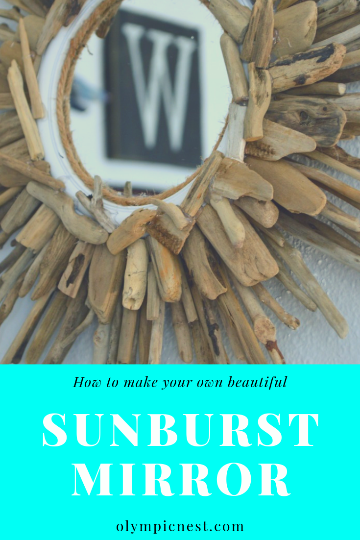 how to make your own sunburst mirror for less than $10png