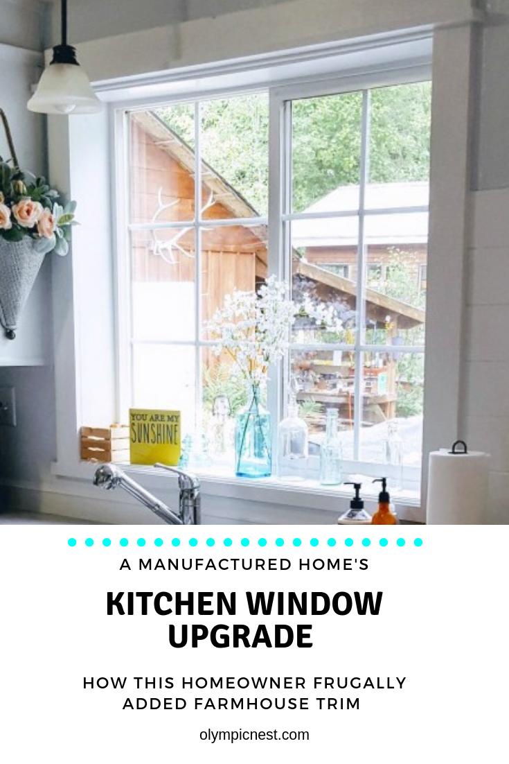 kitchen window upgrade with affordable trim work  #kitchenmakeover #coastalfarmhousekitchen #diy.png