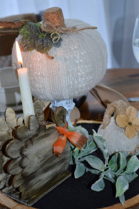 rustic Diy Thanksgiving table centerpiece from Dollar Tree.jpg