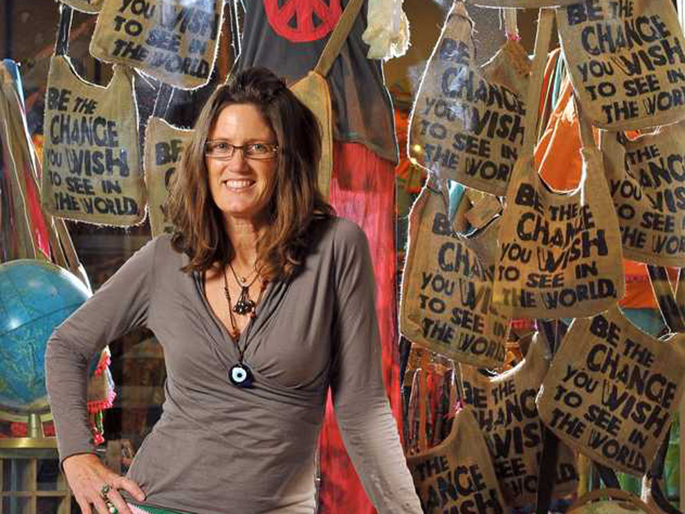 Patti Hughes of Natural Life at the first store in Jacksonville. Photo by Bob Self/The Times Union