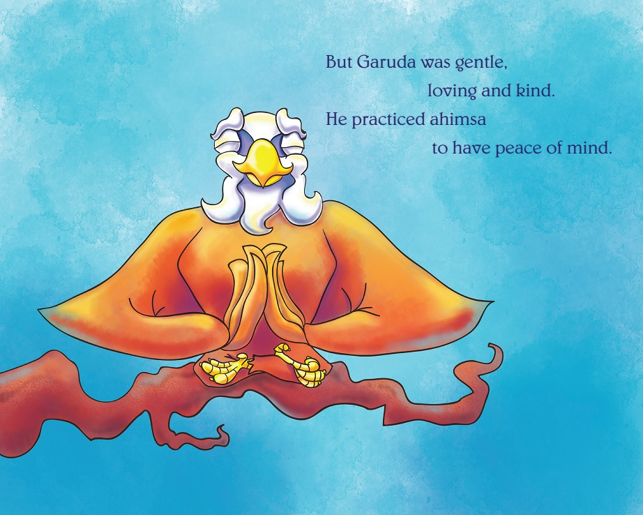 Ford's children's book: Garuda, The Eagle Who Soared With Ahimsa