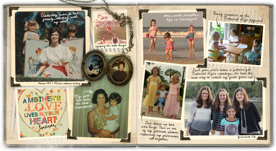 Patti's family photos featured on The Live Happy Blog at NaturalLife.com