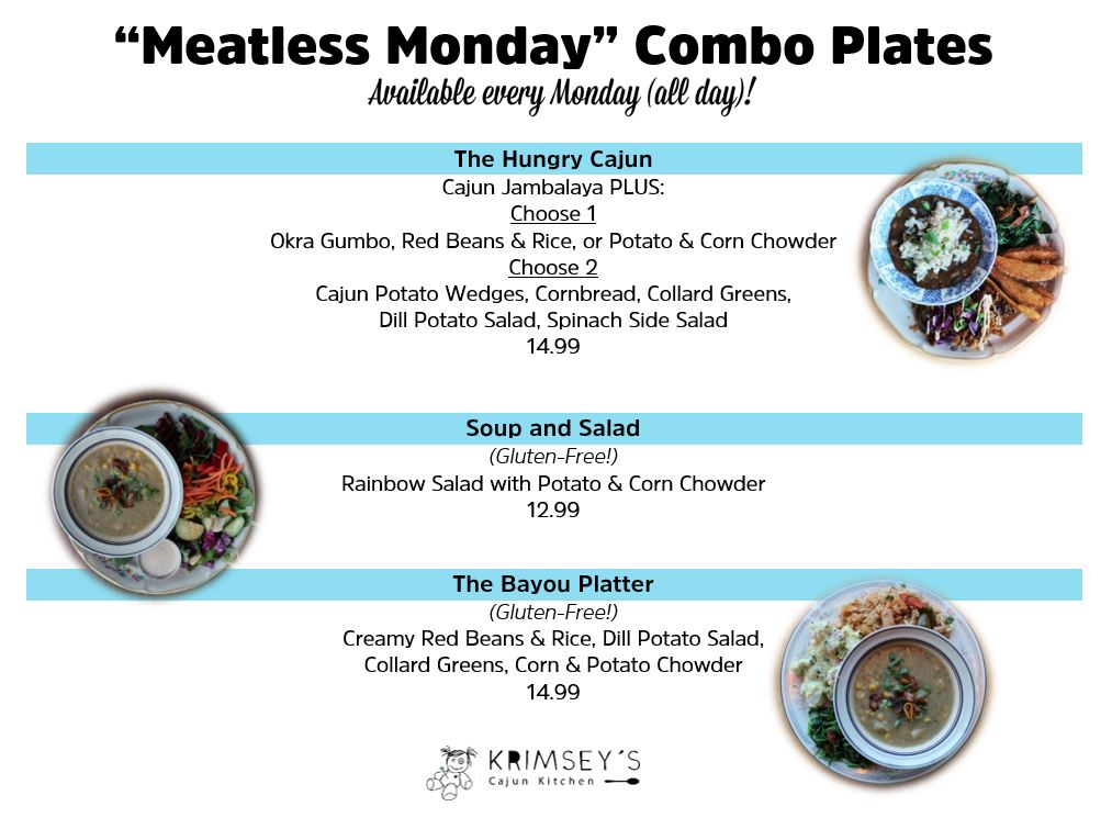 meatless monday combo sign.JPG